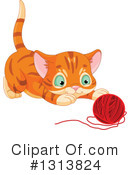 Royalty-Free (RF) Cat Clipart Illustration #1313824
