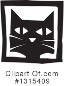Royalty-Free (RF) Cat Clipart Illustration #1315409