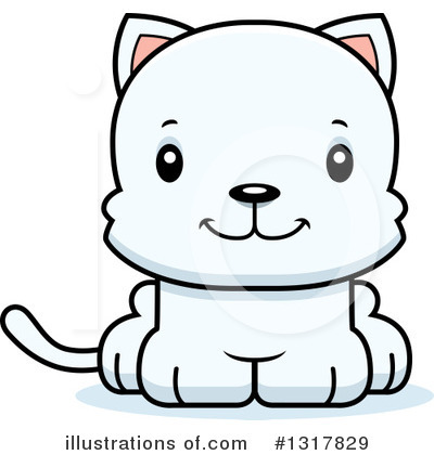 Cat Clipart #1317829 by Cory Thoman
