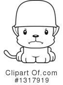 Cat Clipart #1317919 by Cory Thoman