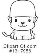 Cat Clipart #1317956 by Cory Thoman