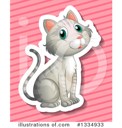 Tabby Cat Clipart #1334933 by Graphics RF