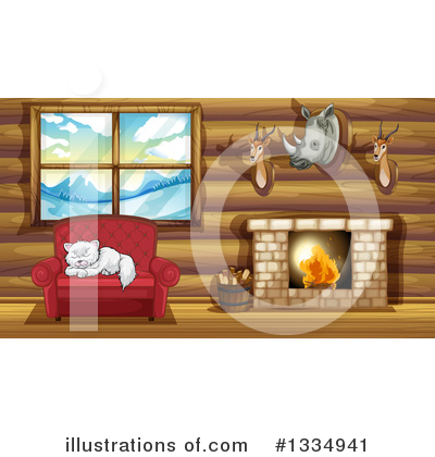 Cabin Clipart #1334941 by Graphics RF