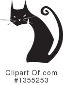 Royalty-Free (RF) Cat Clipart Illustration #1355253