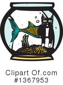 Royalty-Free (RF) Cat Clipart Illustration #1367953