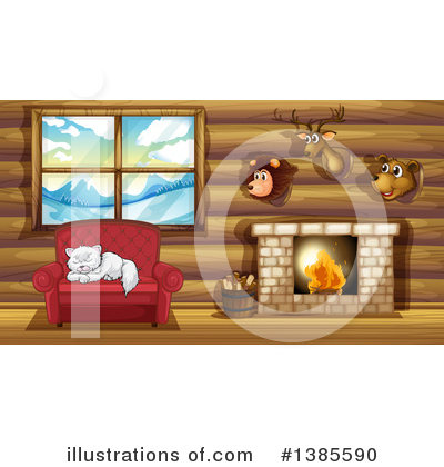 Cabin Clipart #1385590 by Graphics RF
