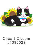 Cat Clipart #1395029 by Maria Bell