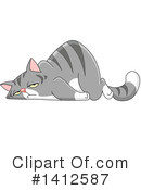 Cat Clipart #1412587 by yayayoyo