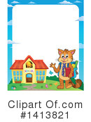 Cat Clipart #1413821 by visekart