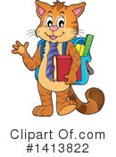 Royalty-Free (RF) Cat Clipart Illustration #1413822