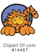 Royalty-Free (RF) Cat Clipart Illustration #14487