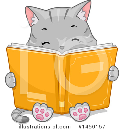 Reading Clipart #1450157 by BNP Design Studio