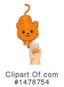 Royalty-Free (RF) Cat Clipart Illustration #1478754