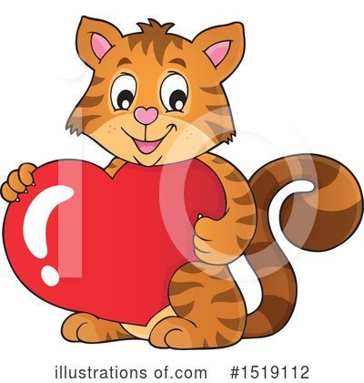 Cat Clipart #1519112 by visekart
