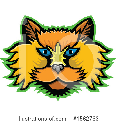 Royalty-Free (RF) Cat Clipart Illustration by patrimonio - Stock Sample #1562763