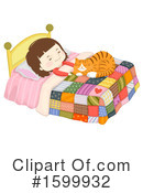 Cat Clipart #1599932 by BNP Design Studio