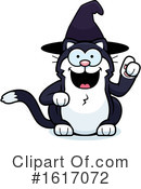 Cat Clipart #1617072 by Cory Thoman
