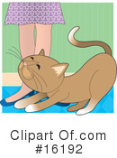 Royalty-Free (RF) Cat Clipart Illustration #16192