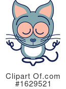 Cat Clipart #1629521 by Zooco