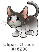 Royalty-Free (RF) Cat Clipart Illustration #16298