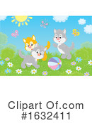 Cat Clipart #1632411 by Alex Bannykh