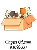 Cat Clipart #1693337 by Graphics RF