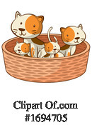 Cat Clipart #1694705 by Graphics RF
