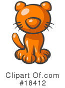 Royalty-Free (RF) Cat Clipart Illustration #18412