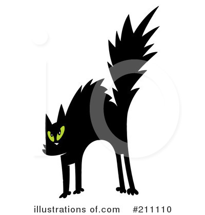 Scared Cat Clipart #211110 by Hit Toon
