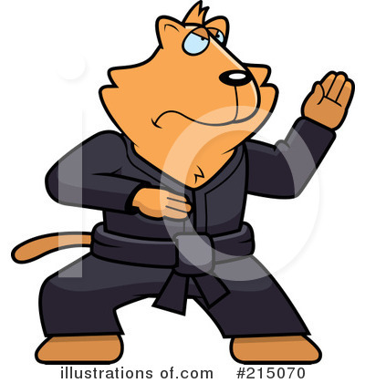 Karate Clipart #215070 by Cory Thoman