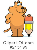 Royalty-Free (RF) cat Clipart Illustration #215199