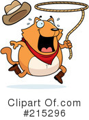 Royalty-Free (RF) Cat Clipart Illustration #215296
