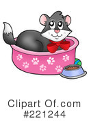Royalty-Free (RF) Cat Clipart Illustration #221244