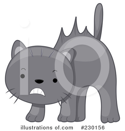Royalty-Free (RF) Cat Clipart Illustration by BNP Design Studio - Stock Sample #230156