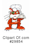 Royalty-Free (RF) Cat Clipart Illustration #29854
