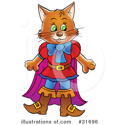 Puss In Boots Clipart #31696 by Alex Bannykh