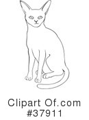 Cat Clipart #37911 by David Rey