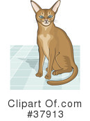 Cat Clipart #37913 by David Rey