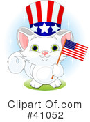 Royalty-Free (RF) Cat Clipart Illustration #41052