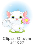Royalty-Free (RF) Cat Clipart Illustration #41057