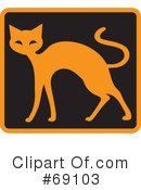 Cat Clipart #69103 by Rosie Piter