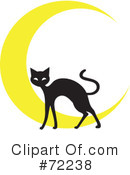 Royalty-Free (RF) Cat Clipart Illustration #72238