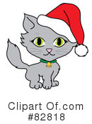 Royalty-Free (RF) Cat Clipart Illustration #82818