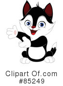 Royalty-Free (RF) Cat Clipart Illustration #85249