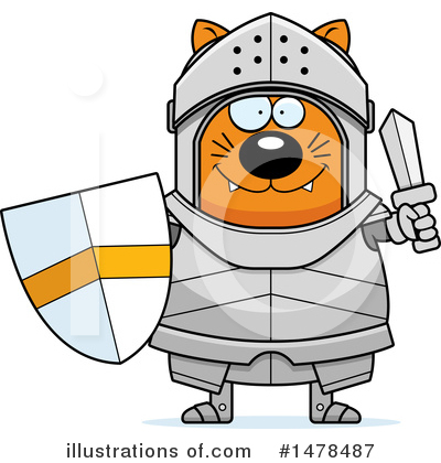 Knight Clipart #1478487 by Cory Thoman