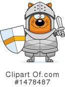 Cat Knight Clipart #1478487