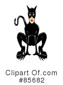 Royalty-Free (RF) Cat Woman Clipart Illustration #85682