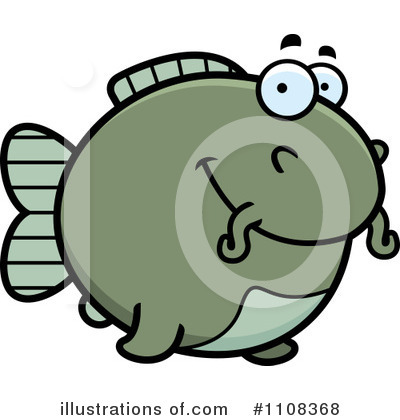 Fish Clipart #1108368 by Cory Thoman
