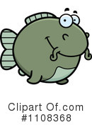 Royalty-Free (RF) Catfish Clipart Illustration #1108368