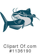 Royalty-Free (RF) Catfish Clipart Illustration #1136190